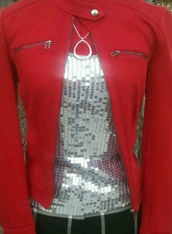 Styling red and silver